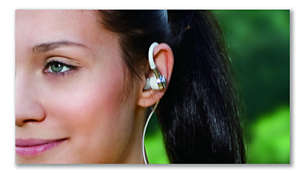 Comfy earhook headphones - your perfect workout companion
