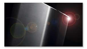 Altavoces de aluminio para un sonido de gran fidelidad con la rigidez óptima
