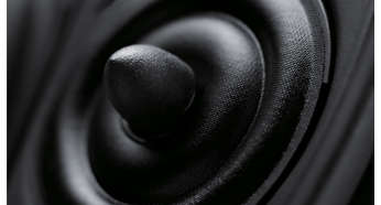 Audiophile-quality drivers for authentic sound reproduction