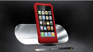 Dock any iPod/iPhone, even in its case