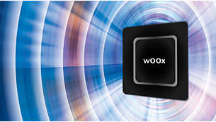 wOOx technology for rich yet precise bass without distortion