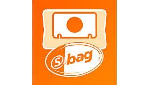 3 liter s-bag for long-lasting performance