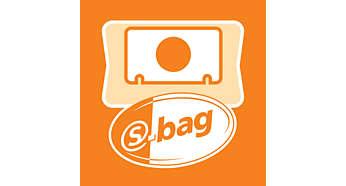 3Liter S-Bag für eine lang anhaltende Reinigungsleistung