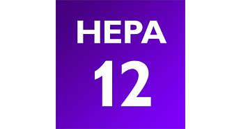 Sistema ciclónico com filtro HEPA para filtragem mais duradoura