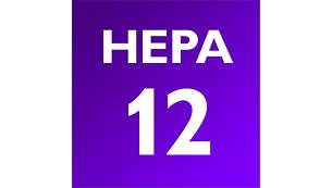 氣旋式 HEPA 過濾系統,過濾效能持久
