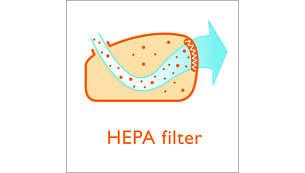 超淨空氣 HEPA 濾網,過濾細微灰塵