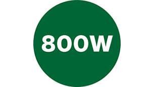 Gör juice snabbt med den kraftfulla motorn på 800W