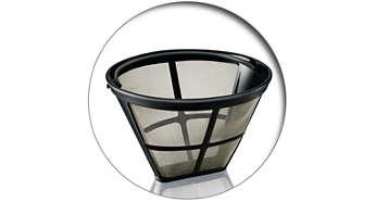 Удобный постоянный фильтр для кофе