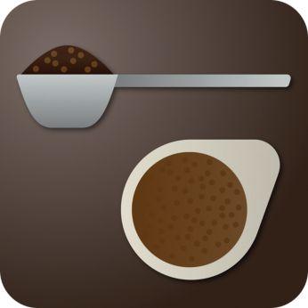 Подходит для молотого кофе и фильтр-пакетов