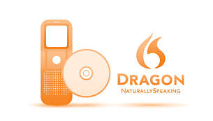 Da voce a testo: Dragon NaturallySpeaking DVR Edition incluso