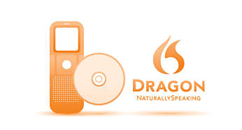 Speech-to-text: inclusief Dragon NaturallySpeaking DVR Edition