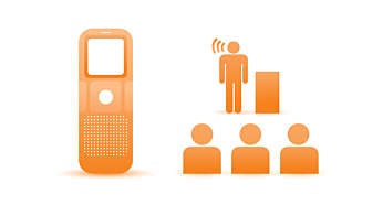 Tecnología ClearVoice para audio claro y nítido