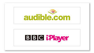 More content choices, with Audible and BBC iPlayer support
