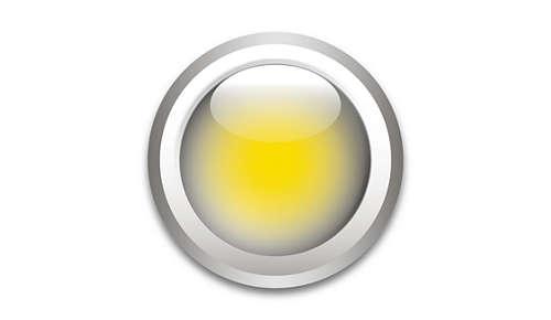 Spredt, varmt hvidt lys