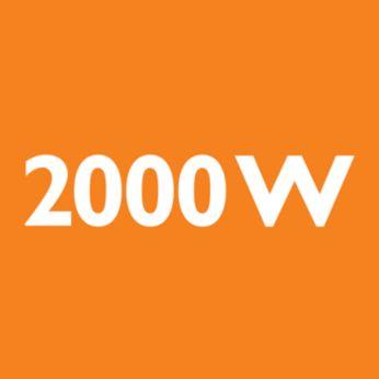 Motor od 2.000 W koji stvara maks. 350 W usisne snage