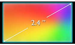 TFT-дисплей QVGA, 65 536 цветов для яркого и насыщенного изображения