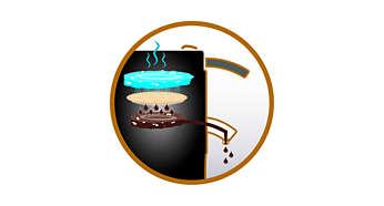 Exclusivo sistema de preparo de café SENSEO® para um sabor excelente