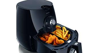 Séparateur d'aliments permettant de frire différents plats simultanément