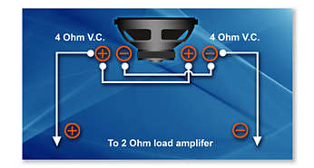 Kablo bağlantı esnekliği için ikili ses bobini