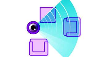 Integrierte Kamera und Software für eine effiziente Reinigung