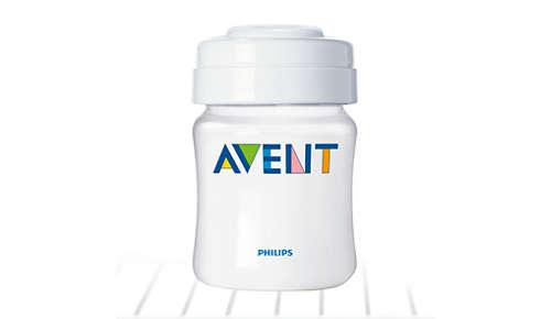 Praktisches Aufbewahrungssystem für Muttermilch