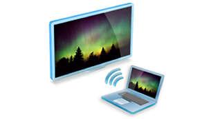 Puedes conectar una PC a tu televisor de forma inalámbrica con MediaConnect