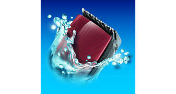 Entièrement lavable à l'eau pour un nettoyage impeccable