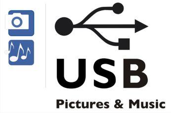 Fantastic photo & music playback via USB