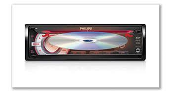 Мягкая рассеянная подсветка для удобной установки CD