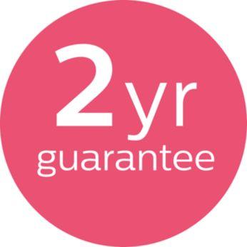 2 года гарантии по всему миру