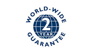 2-year worldwide guarantee