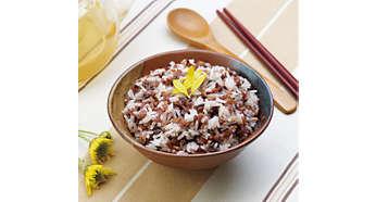 3 rice cooking menus