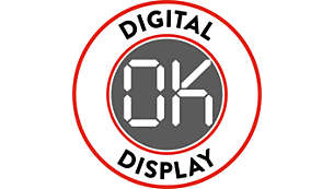 Digital display for easy navigation