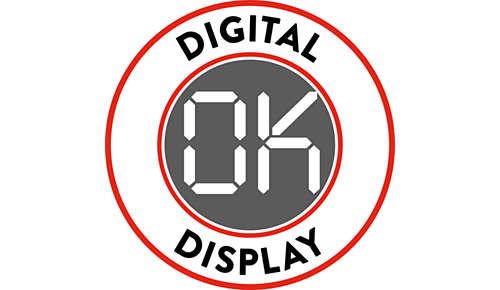 Afficheur numérique pour une navigation facile