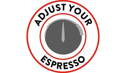 Adaptez votre espresso en fonction de vos goûts