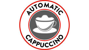 Hassle-free automatic Cappuccino preparation