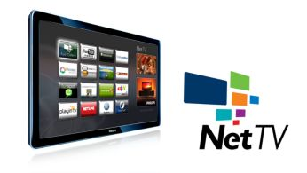 NetTV with Wireless access to online services on your TV