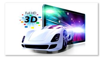 Full HD 3D Blu-ray for a truly immersive 3D movie experience