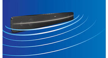 Buet SoundBar-design for en bredere lydspredning
