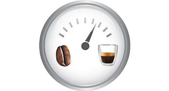 Adjust coffee length, intensity, temperature and strength