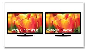 CinemaPlus pentru imagini mai bune, mai precise şi mai clare