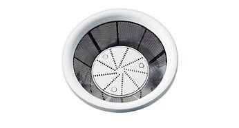 Mikro-Sieb-Filter für mehr Saft