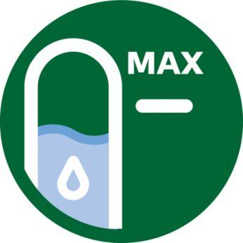 Czytelne wskaźniki poziomu wody z obu stron