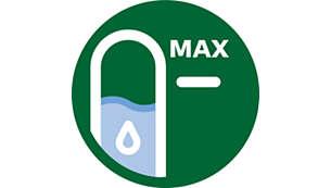 Jasne oznake za vodo na obeh straneh
