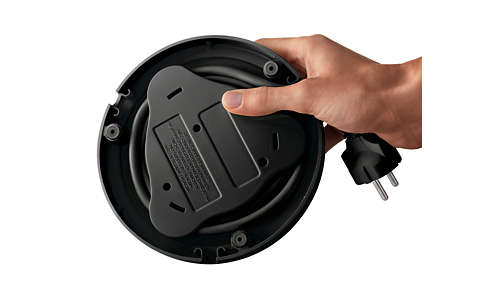 Power cord winder for easy storage