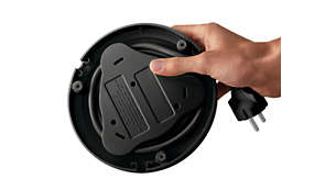 Navijalnik napajalnega kabla za enostavno shranjevanje