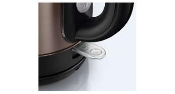 指示燈會顯示煮水壺電源已開啟