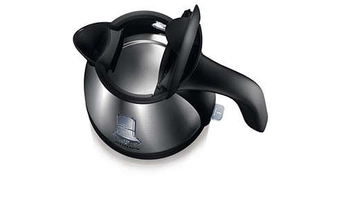 Élément chauffant plat pour une ébullition rapide et un nettoyage plus facile
