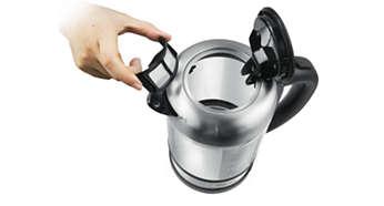 Filter na zachytenie vodného kameňa pre šálku čistej vody