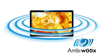 Feel the bass of 20W RMS and Ambi-wOOx